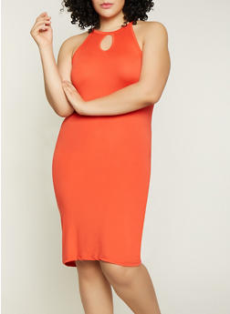 Plus Size Soft Knit Tank Dress | 1390038349821 - 1390038349821
