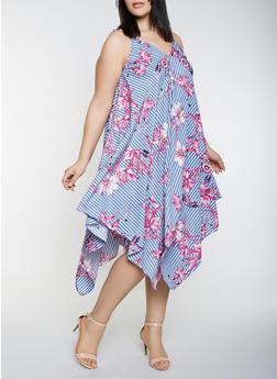 Womens Floral Print Dresses