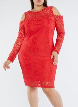 Plus Size Lace Dresses | Rainbow
