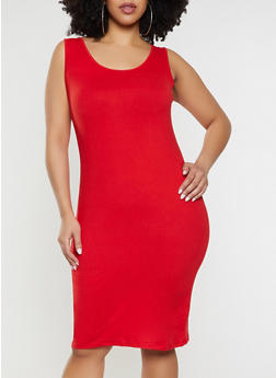 Red Plus Size Dresses | Rainbow