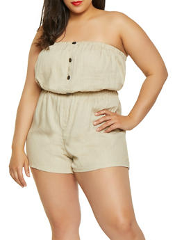 Plus Size Rompers