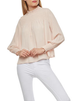 Smocked Peasant Top - 1401068191707