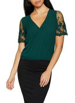 5f0669bc Green Clearance Sale on Womens Tops | Rainbow