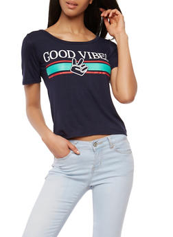 Good Vibes Graphic T Shirt - 1402061355468