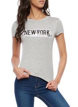 New York Graphic T Shirt - 1402061358081