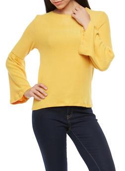 Bell Sleeve Sweater - 1402069391395