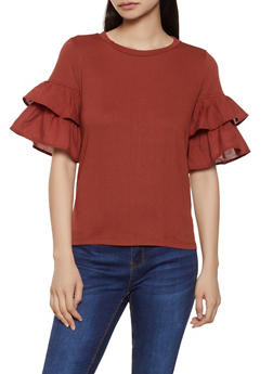 Tiered Sleeve Top | 1402069399653 - 1402069399653