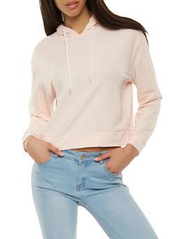 Long Sleeve Hooded Sweatshirt - 1402074560818