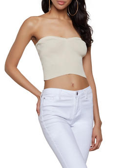 Sweetheart Neck Tube Top - 1403015999810