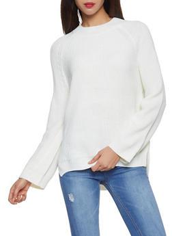 Mock Neck Sweater - 1403061350056