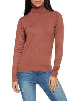 Turtleneck Sweater - 1403062707093