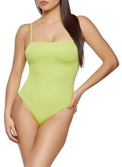 High Cut Bodysuit - 1405068193570