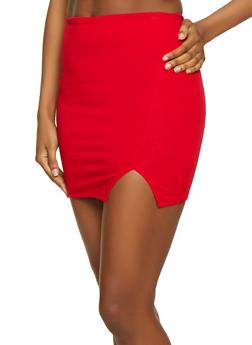 Ponte Mini Skirt - 1406068190265