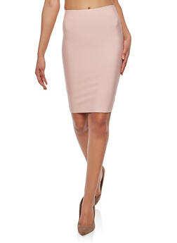 Bandage Pencil Skirt - 1406068191772