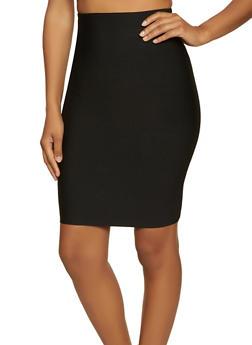 Ponte Pencil Skirt | 1406068197270 - 1406068197270