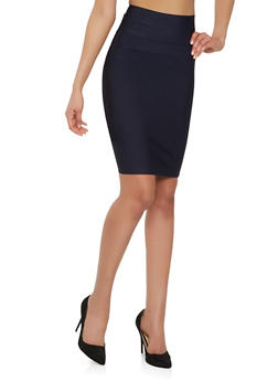 Bandage Pencil Skirt - 1406069394070