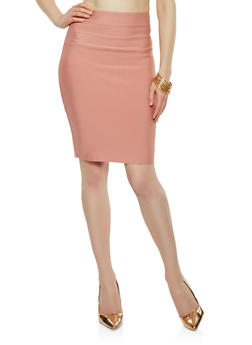 Bandage Pencil Skirt - 1406069394070