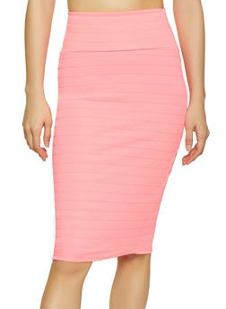 Bandage Pencil Skirt - 1406072240236