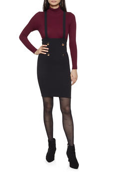Sailor Suspender Skirt - 1406072240713