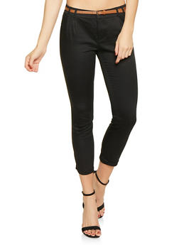 Belted Trousers - 1407054210295