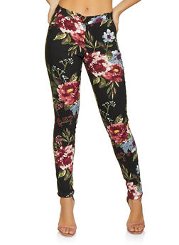f69cb046d5 Hyperstretch Floral Pants - 1407056570081