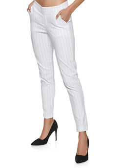 a79ad2d826 Pinstripe Pull On Pants - 1407056571250