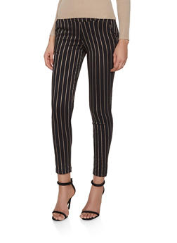 Striped Pull On Pants - 1407056571977