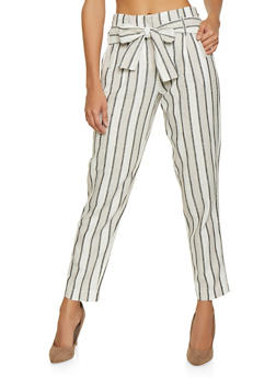 1d2e73a6a9 Striped Linen Pants - 1407056572312