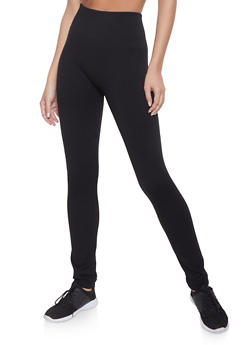 Fleece Lined Leggings - 1407062703875
