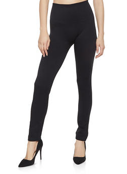 Fleece Lined Leggings - 1407062703876