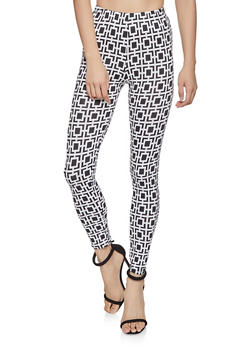 Printed Leggings - 1407063406398