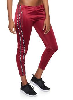 Love Varsity Stripe Track Pants - 1407063409594