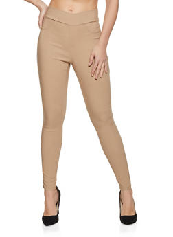 Twill Stretch Pull On Pants - 1407069397516