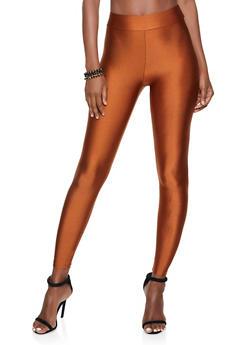 Colored Spandex Leggings - 1407069397638