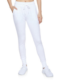 French Terry Lined Joggers - 1407072290057
