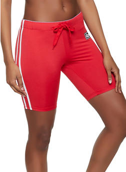 Graphic Love Band Active Shorts - 1407072290111