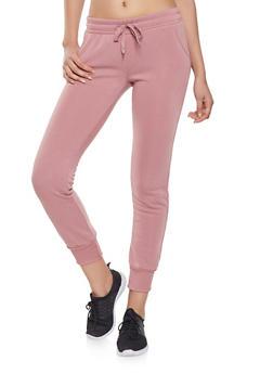 Fleece Lined Sweatpants - 1407072290137