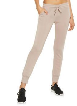 Fleece Lined Sweatpants - 1407072290138