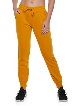 Basic Fleece Joggers - 1407072298731
