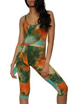 Tie Dye Romper - 1408062703200