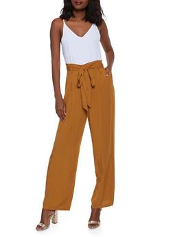 446ddc2dd75 Paper Bag Waist Jumpsuit - 1408068193332