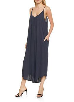 Oversized Cami Jumpsuit - 1408068197235