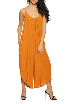 Oversized Cami Jumpsuit - 1408068197235