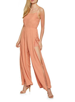 Side Slit Jumpsuit - 1408068197269