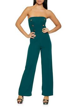 Strapless Sailor Jumpsuit - 1408072242870