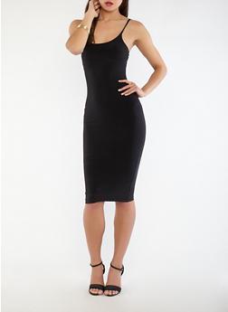 Midi Bodycon Dress - 1410062701820