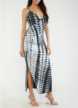 Tie Dye Maxi Dress - 1410066490245