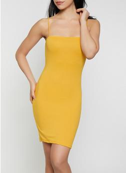 Soft Knit Cami Dress - 1410066494566