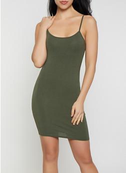 Basic Cami Dress - 1410066497894