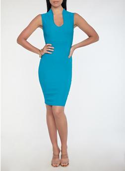 Stretch Midi Dress - 1410068512041